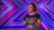 Oceane Guyot sings Mariah Carey's Emotions - Audition Week 1 - The X Factor Uk 2014