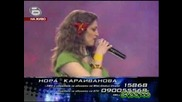 Music Idol 2 - Изпълнението На Нора Hips Dont Lie  28.04.2008 Good Quality