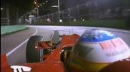Alonso Pole Lap - Formula1 2010 Singapore Gp Alonso Pole Lap [hd]
