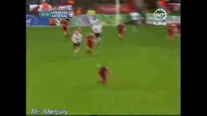 Ryan Babel great goal vs Arsenal