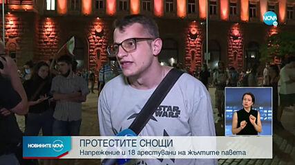 Равносметката след петъчните протести в София (ВИДЕО)