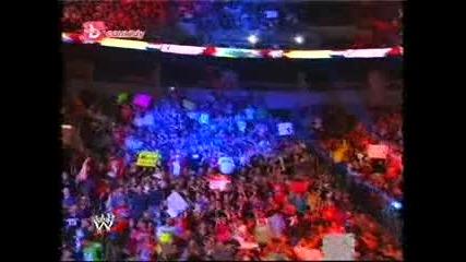 Wwe: Джон Сина vs. Миз (мач без правила) - Отвът предела 24.06.2011 част 2/2
