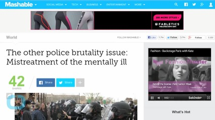 The Other Police Brutality Issue: Mistreatment of the Mentally Ill