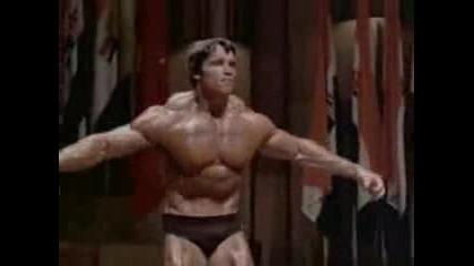 Ronnie Coleman Vs Arnold Schwarzenegger - Posing