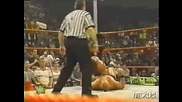 WWF Steve Austin, Dude Love &  The Undertaker vs. Bret Hart, Owen Hart & The British Bulldog - Flag Match (1997)