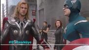 Класация топ 10 членове на великия супергеройски отбор Отмъстителите