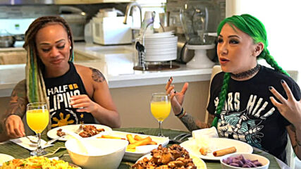 Shotzi Blackheart shares Filipino traditions: WWE's The Bump, May 12, 2021