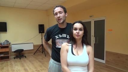 """Dancing Stars - Дарин и Ани """" Живот като на кино """" - 07.04.2014 г."""