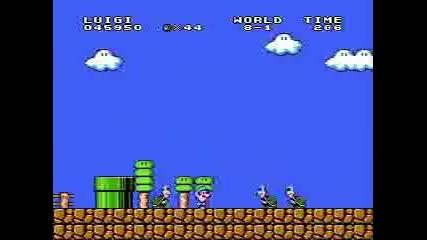 Super Mario Bros Превъртане