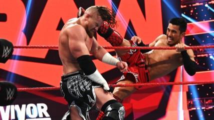 Akira Tozawa vs. Buddy Murphy: Raw, Nov. 18, 2019