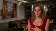Интервю С Ема Уотсън От Филма Хари Потър и Даровете на Смъртта