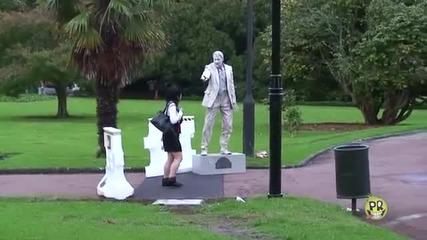 Жива Статуя ( Смях )