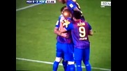 Malaga Vs Barcelona 1-4 All Goals Highlights (january 22nd, 2012)