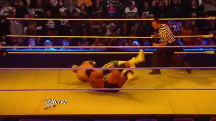 Sin Cara vs. Damien Sandow: Raw, March 24, 2014