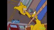 The Simpsons - Balloon ride
