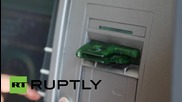 Greece: Some ATMs in Athens empty after ECB retains emergency funding limit