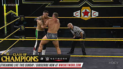 Ridge Holland decimates the competition: NXT Takeoff to TakeOver, Sept. 23, 2020