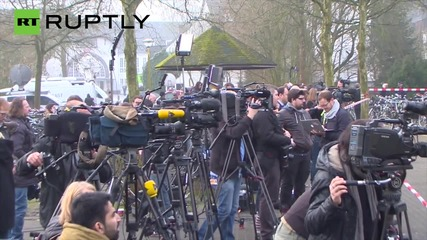 Germany: Pupils hold vigil at school of Germanwings crash victims
