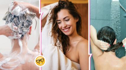 100% миете косата си по неправилен начин! Ето кои са най-честите грешки, които допускаме