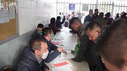 Mexico: 2,000-strong migrant caravan arrives at US border in Tijuana