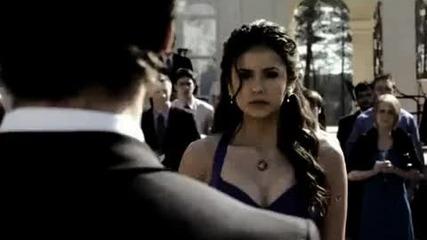 Деймън и Елена ;; От кое боли най-много,подяволите / The Vampire Diaries /