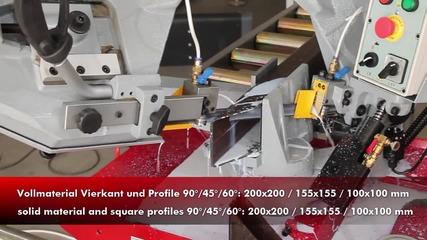 Професионална Ножовка. Механична Лентова Ножовка За Метал Bs 275 Gp Holzmann Maschinen Bs 275gp