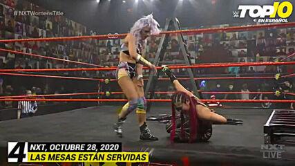 Top 10 Mejores Momentos de NXT En Español: WWE Top 10, Oct 28, 2020