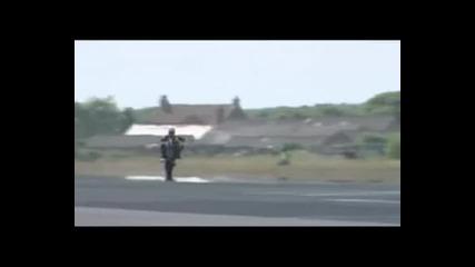 Ghost Rider Wheelie 214 Mph(342 kmh) - Световен рекорд