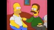 Хоумър пуши трева - Семейство Симпсън