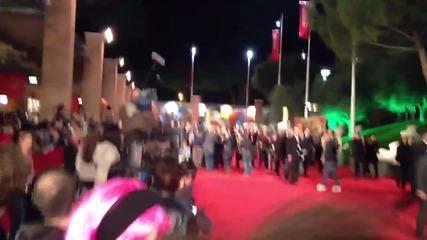 Филмовата звезда Силвестър Сталоун на филмовия фестивал в Рим