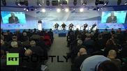 """Russia: Iran praises Putin's Syria strikes as """"a serious warning to terrorists"""""""