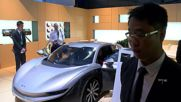 China: Consumer version of China's electric supercar rolled out at Auto China 2016