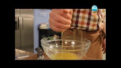 Телешко тербетлия, гъбена чорба, редена салата, торта с цитруси - Бон апети (19.01.2013г.)