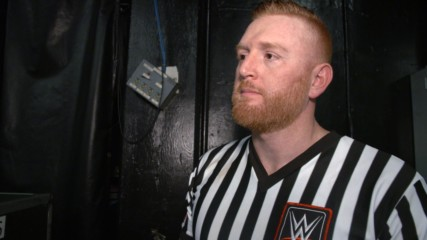 Conflicted Heath Slater reflects on his first night as referee: WWE.com Exclusive, Dec. 10, 2018