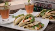 Гордитас със скариди и сос | Мексиканска фиеста с Питър Курувита | 24Kitchen Bulgaria