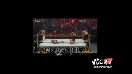 Wwe Hell In A Cell 2009 - Batista & Rey Mysterio vs Chris Jericho & Big Show ( Tag Team Championship