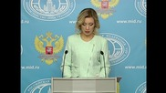 Russia: We provided evidence that Turkey sells oil to ISIS - Zakharova