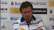 Представиха Вили Вуцов като треньор на Славия