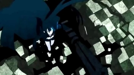 {rin and Black rock shooter} You turn me up