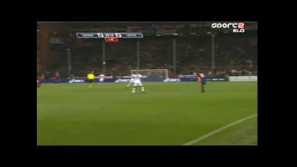 Гол - Станкович вкара гол от 54 метра