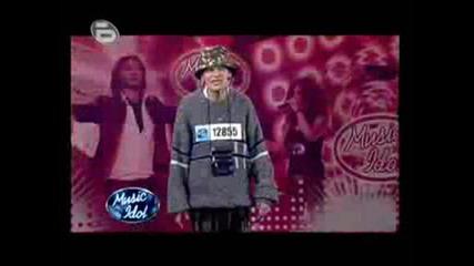 Music Idol 3 10 - 03 - 2009 Документален Рап - Борис Карашев Zzozz Remix.wmv