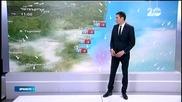 Прогноза за времето (01.01.2015 - обедна)