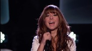 Christina Grimmie Audition Wrecking Ball (the Voice Highligh