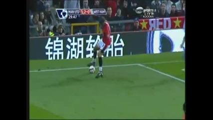 Tevez vs Berbatov vs Rooney