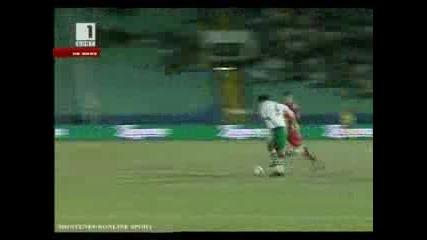България срещу Черна гора - 2010 Южна Африка Квалификаций за Световното Първенство