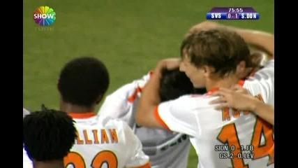 Лига Европа - Сивасспор 0:3 Щахтьор Донецк