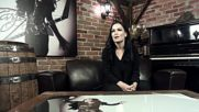 Tarja about 8. Goldfinger - track by track from Turunen album The Brightest Void [ hd ]