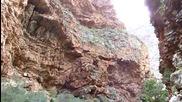 проход водопад през Руст де