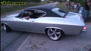 1968 Chevrolet Chevelle Burnout