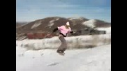 Snowboarding In Parkcity